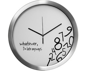 clock and whatever image