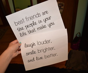 best friend, happy, and quotes image