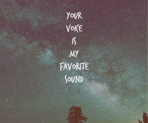 quotes, sound, and stars image
