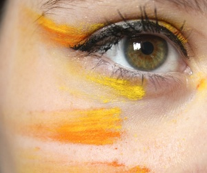 color, green, and make-up image