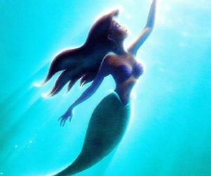 disney, ariel, and sea image