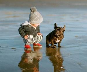 baby and dog image