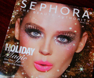 sephora, glitter, and makeup image