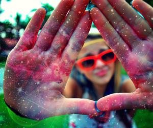 galaxy, hipster, and photography image