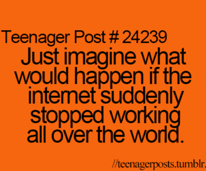 teenager post, internet, and funny image