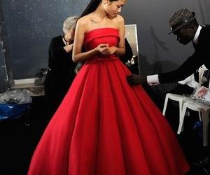 backstage, dress, and fashion image