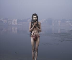 india, sadhu, and photography image