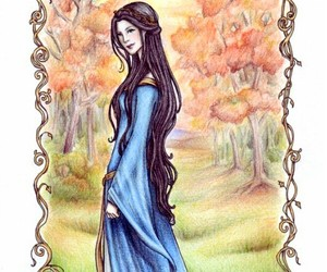 long hair, narnia, and Queen image