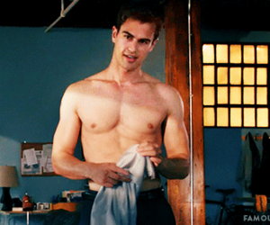 beautiful, theo james, and Hot image