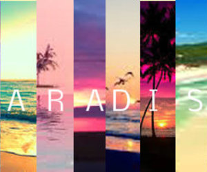 Dream, paradise, and love image