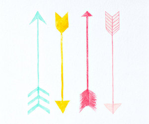 arrows, beauty, and simply image