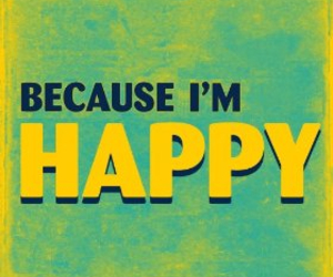 happy and music image