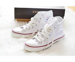 converse, white, and fashion image