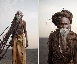india, photos, and sadhu image
