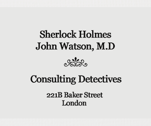 221B Baker Street, holmes, and london image