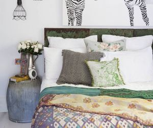art, bedroom, and wall image