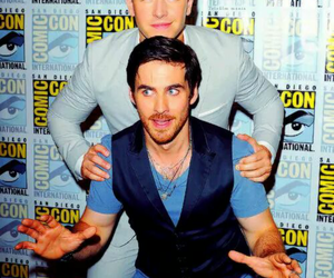 once upon a time, colin o'donoghue, and josh dallas image