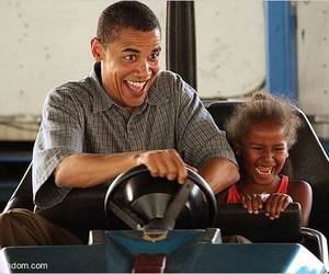 car, funny, and obama image
