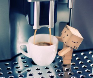 coffe and danbo image