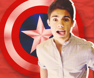 captain america, Hot, and singer image