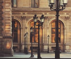 street, paris, and architecture image