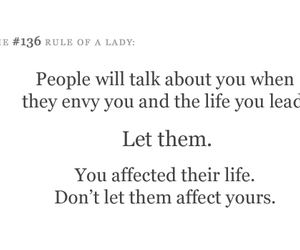 quote, text, and lady image