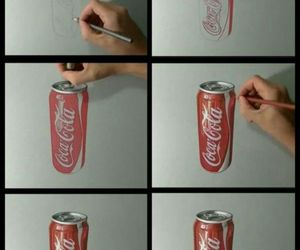 3d, art, and coca cola image