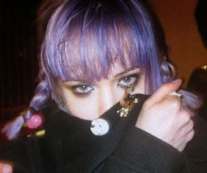 grunge, hair, and Alice Glass image