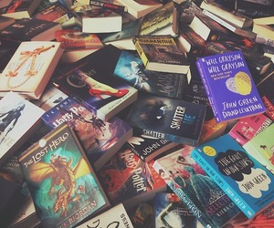 book, harry potter, and john green image