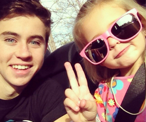 nash grier, nash, and skylynn image