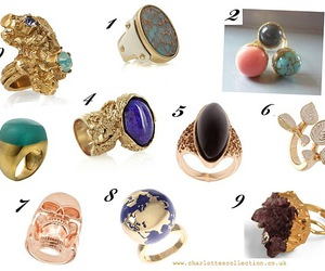 fashion, rings, and shopping image