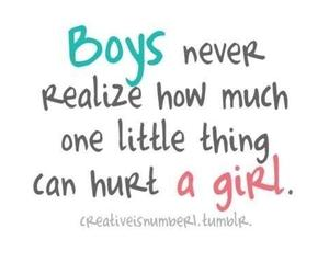 boy, girl, and hurt image