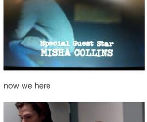 supernatural, misha collins, and castiel image