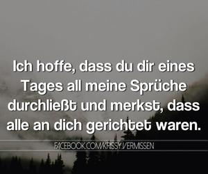 sprüche, german, and text image