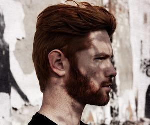 black, ginger, and man image