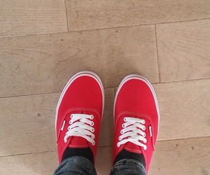 new, red, and shoes image