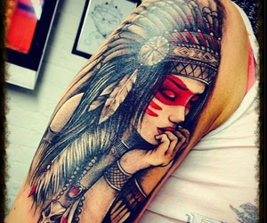 arm, indian, and girl image