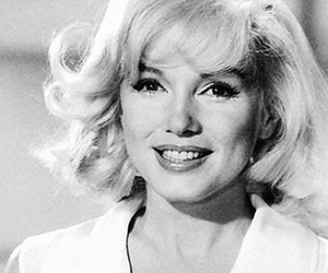 black and white, Marilyn Monroe, and perfect image