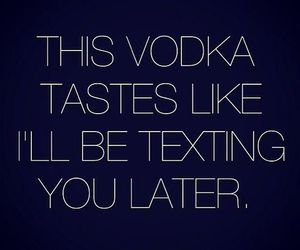quote, love, and vodka image
