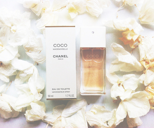 chanel, flowers, and Mademoiselle image
