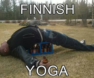 drunk, finland, and funny image