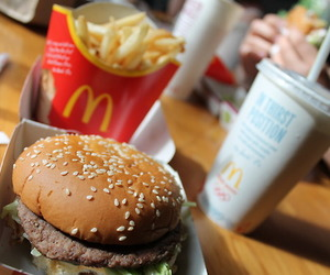 chips, burger, and food image