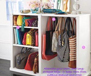 bag, closet, and purse image