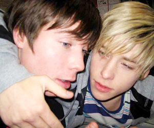chris, maxxie, and skins image