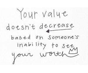 quote, true, and value image
