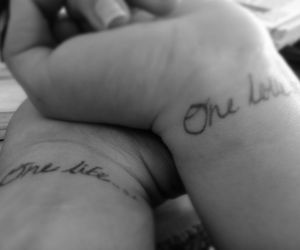 couple, one love, and one life image