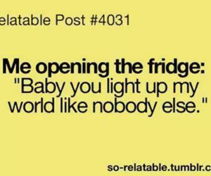 food, fridge, and one direction image