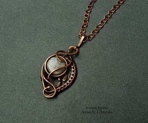 diy, wire wrapping, and tutorial image