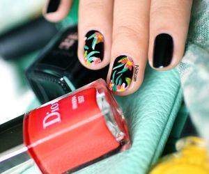 dior, nail art, and nails image