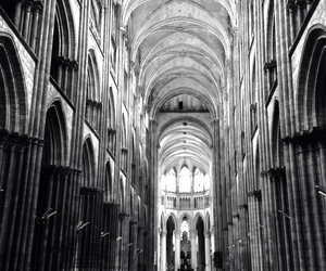 cathedral, france, and church image